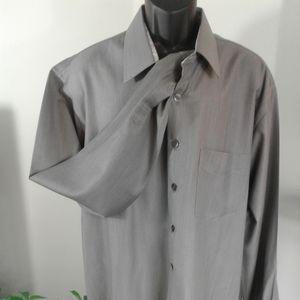 Men Casual custom dress shirt  by Rocky XXL